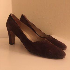 Ferragamo Women's Suede Heels